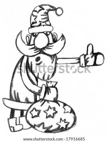 Royalty Free Stock Illustration Of Christmas Santa Clause