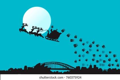 Christmas In Australia Background.Imagenes Fotos De Stock Y Vectores Sobre Christmas