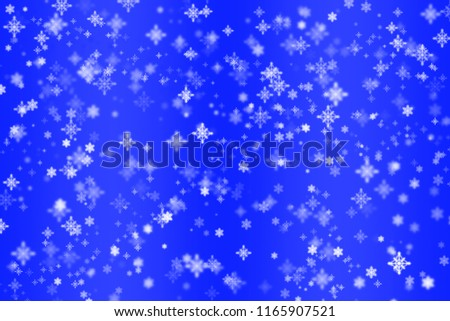 christmas screensaver background for christmas and new year greetings blue background