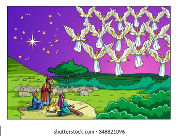 Angels Choir Images, Stock Photos & Vectors | Shutterstock