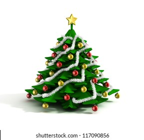3d Christmas Tree.Christmas Tree 3d Images Stock Photos Vectors Shutterstock