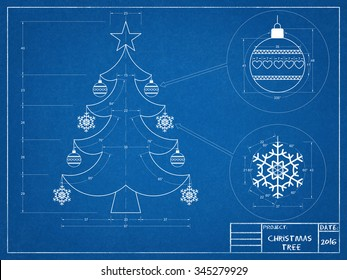 Christmas Tree Blueprint 2016