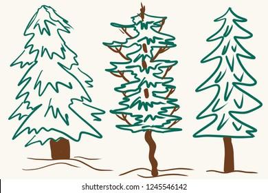 Charlie Brown Christmas Tree Drawing.Charlie Brown Christmas Tree Images Stock Photos Vectors