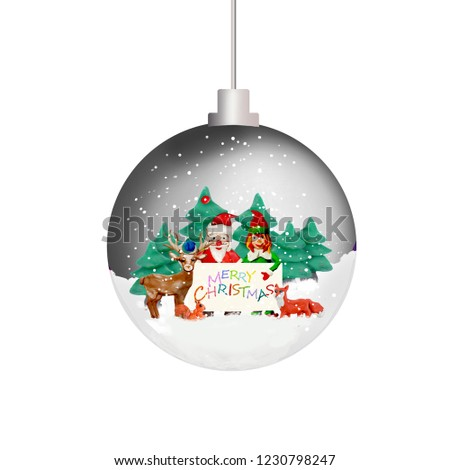 christmas tree ornament pattern 3 d sphere stock illustration