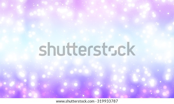 Christmas violet background. The winter background, falling snowflakes