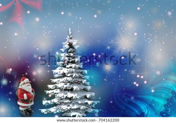 Shnow On Christmas 2020 ? Christmas Wishes Christmas Tree Snow Santa Stock Illustration