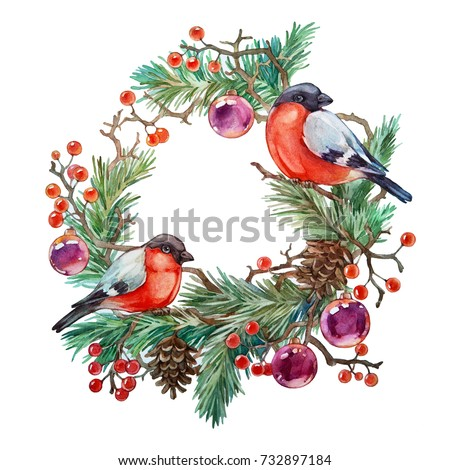 Christmas Wreath For Birds