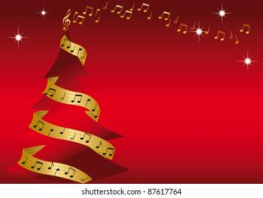 Christmast tree whit music
