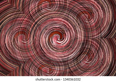 Chromatic spiral decorative abstract colorful swirl background