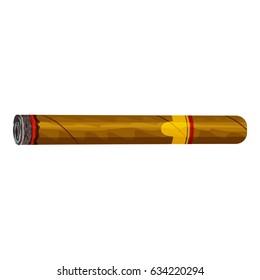 Cigar icon. Cartoon illustration of cigar  icon for web