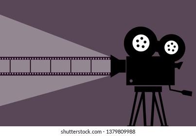 Cinema movie Illustration