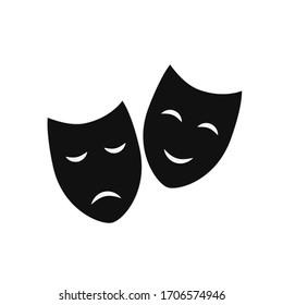 cinema-mask icon and illustration icon