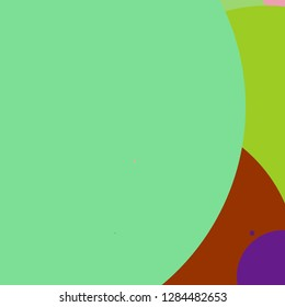 Circle geometric elegant abstract background multicolored pattern.
