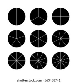 Circle Divided Into 3 High Res Stock Images Shutterstock