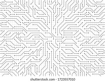 Circuit board background. electronic background