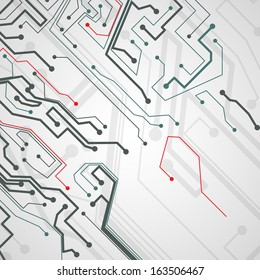 Circuit board background, technology illustration.