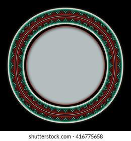 Circular Sadu Weaving Frame