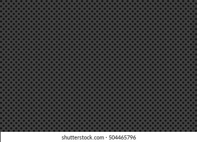 Circular speaker grille, abstract background, 3D render illustration