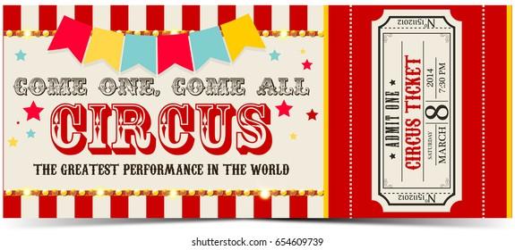 Circus ticket