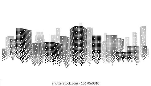 City scene on night time