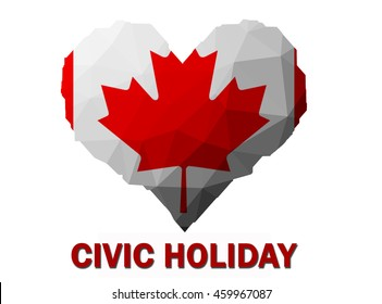 civic holiday long weekend