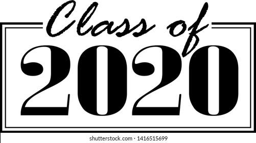 Graduation Banner 2020.Class 2020 Images Stock Photos Vectors Shutterstock