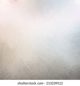 classy white background with pale brown gray blue grunge design border texture and soft lighting