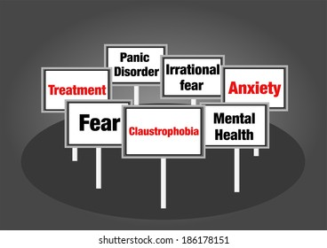 Claustrophobia signs