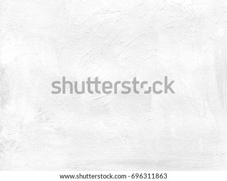 0107509de1fc7b Clean abstract background from white coarse canvas texture of paint smears.  Image with copy space