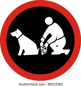 Clean up after your pet in JPG