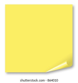 Clear Post-It - Write a note on it