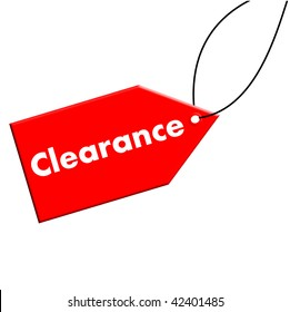 Clearance Tag