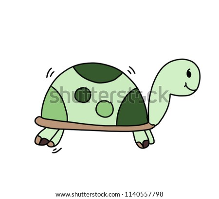 Clip art of turtle