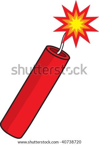 clipart illustration lit stick dynamite stock illustration 40738720 rh shutterstock com dynamite explosion clipart free clipart dynamite