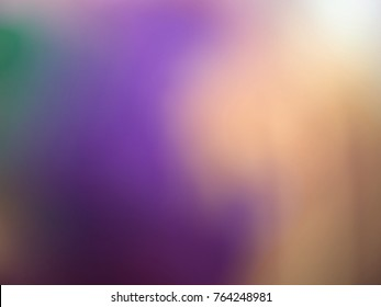 A Close up Image of Multi Coloured Gradient Light Showing a Dull and Bland Colour Effect of Cloud and Fog