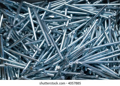 close-up of multiple nails