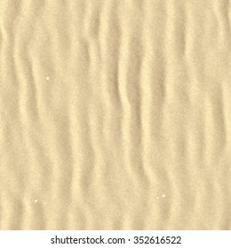 Closeup of sand beach/dune texture background, top view (Tiles seamless, High-resolution 3D CG rendering illustration)