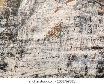 closeup view of old hand painted canvas surface. artistic abstract background