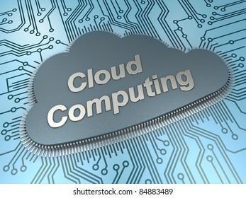 Cloud computing chip