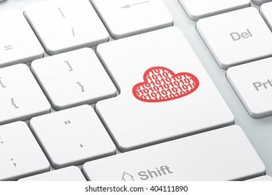Heart keyboard code