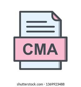 CMA File Document Icon