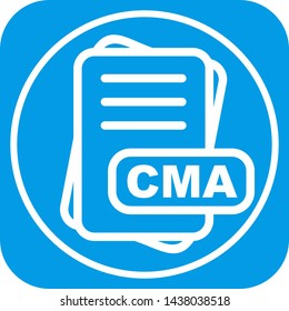 CMA File Format Icon For Your Project