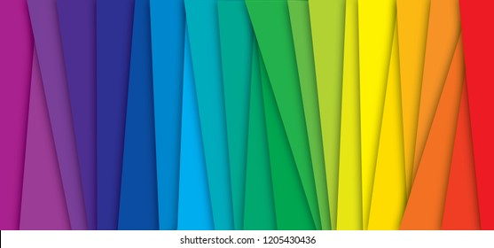 CMYK Color wheel rainbow stripes background with shadow cyan magenta yellow black Colorful spectrum gradient Concept presenting color printing fun funny color mode Prepress line pattern pms banner pms