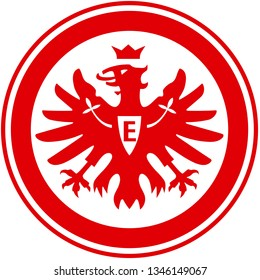 coat of arms city of Frankfurt am Main Eintracht. Germany