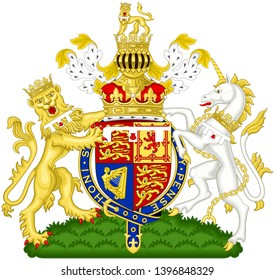 Coat of arms of the Duke of Cambridge