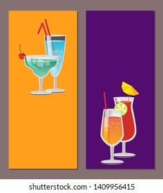 Cocktail party your invitation summertime fest raster invitational leaflet on celebration summer holiday tropical drinks with lime and bubbles