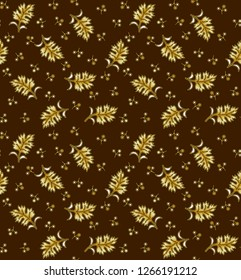 coffy background digital leaf design pattern reapet