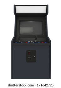 Coin operated arcade machine