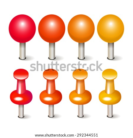 collection pins maps stock illustration 292344551 shutterstock