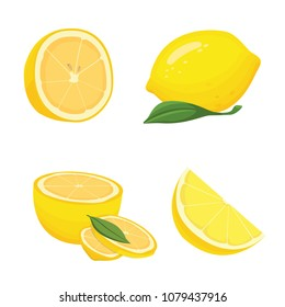 Collection of sliced lemons